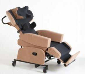 Aangepaste stoel voor rugklachten