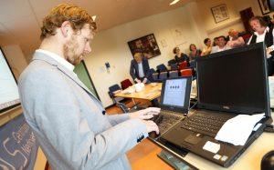 Garmt van Soest schrijft zich in als patient bij TRICALS