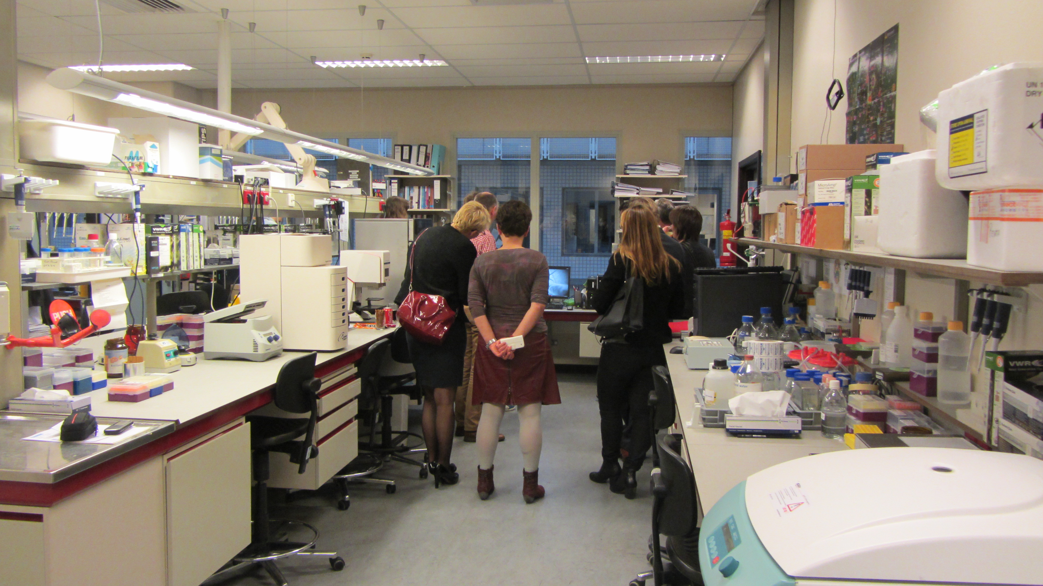 groep in lab